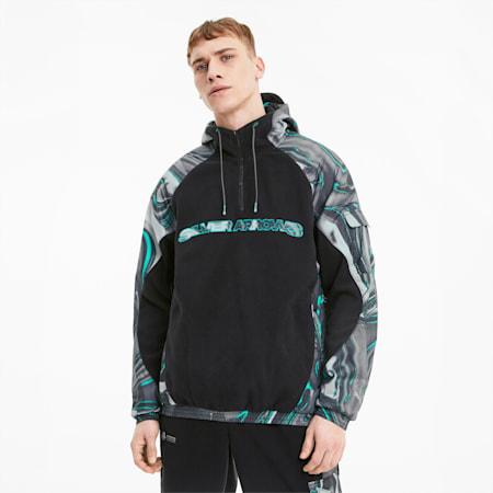 Mercedes Street Hooded Men's Jacket, Puma Black, small