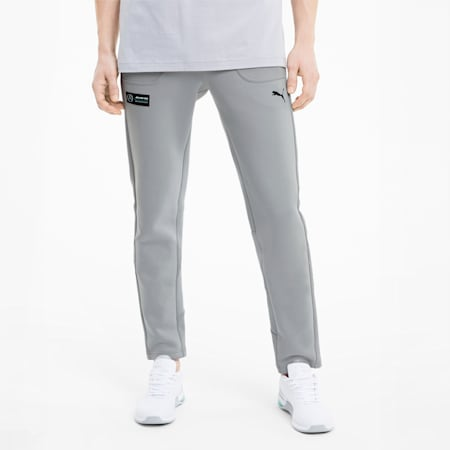 Mercedes Men's Sweatpants, Mercedes Team Silver, small-IND