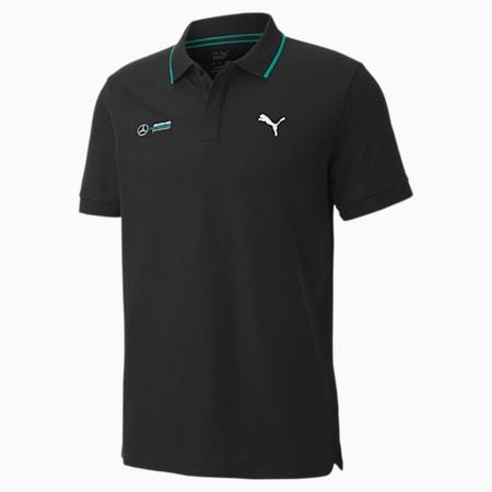 Mercedes Men's Regular Polo, Puma Black, small-IND