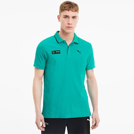 Mercedes poloshirt voor heren, Spectra Green, small