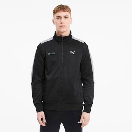 Mercedes T7 Men's Track Jacket, Puma Black, small