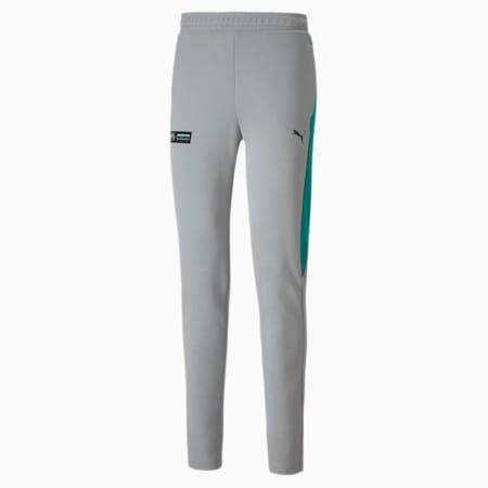 Mercedes T7 Men's Track Pants, Mercedes Team Silver, small-SEA