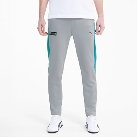 Mercedes-AMG Petronas Men's T7 Track Pants, Mercedes Team Silver, small