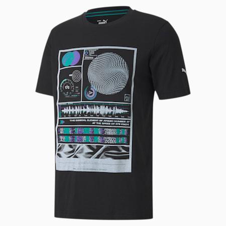 T-shirt grafica da uomo Mercedes, Puma Black, small