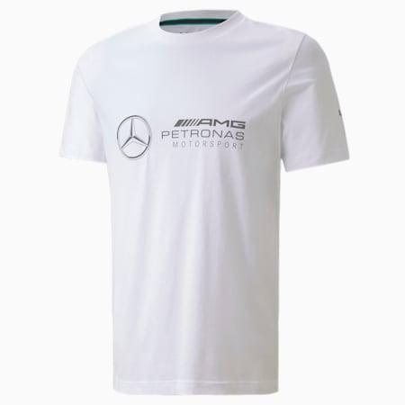 Mercedes Logo Men's Tee, Puma White, small-SEA
