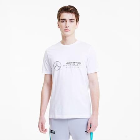 T-Shirt Mercedes Logo pour homme, Puma White, small