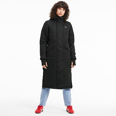 Scuderia Ferrari Style RCT Explorer Women's Jacket, Puma Black, small
