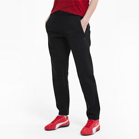 Pantaloni felpati da donna Scuderia Ferrari Style, Puma Black, small