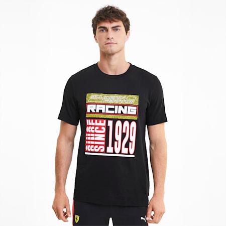 フェラーリ レース Q4 半袖 Tシャツ, Puma Black, small-JPN