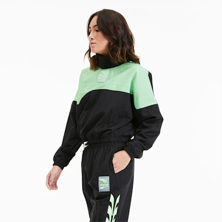 Evide Damen Sweatshirt, Puma Black, small