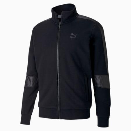 TFS Men's Track Jacket, Puma Black, small-IND