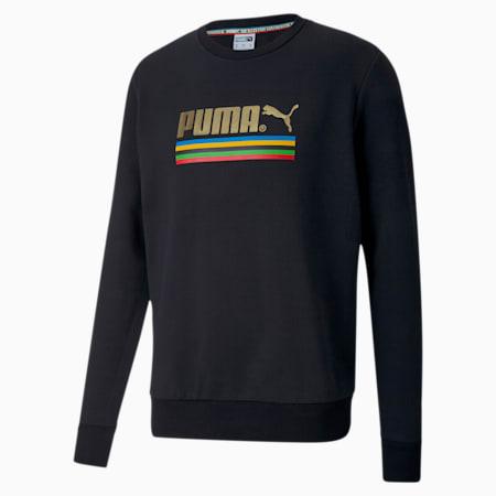 The Unity Collection TFS Herren Sweatshirt mit Rundhalsausschnitt, Puma Black, small