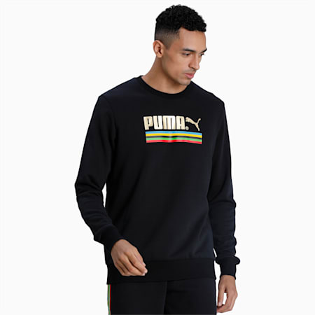 Tailored for Sport WH Men's Crewneck Sweatshirt, Puma Black, small