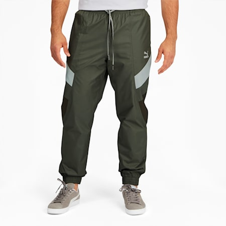 Tailored for Sport Men's Track Pants, Forest Night, small