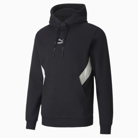 Tailored for Sport Winterized Men's Hoodie, Puma Black, small