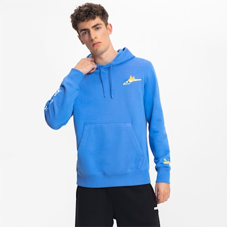 PUMA x SONIC Men's Hoodie, Palace Blue, small