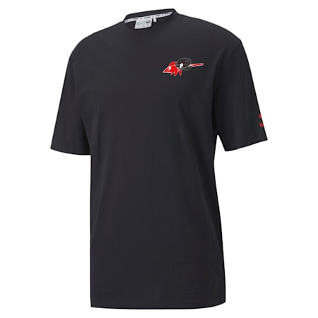 PUMA x SONIC T-Shirt, Puma Black, small-IND
