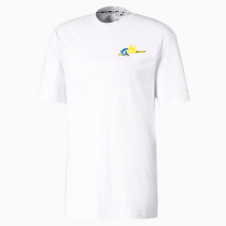 PUMA x SONIC Tシャツ 半袖, Puma White, small-JPN