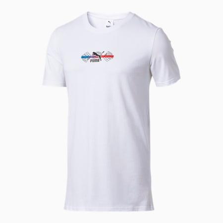 Camiseta PUMA x RUBIK'S para hombre, Puma White, pequeño