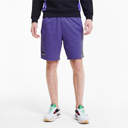 TFS Men's Shorts, Purple Corallites, small