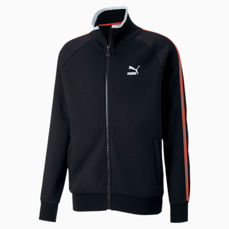 Men's Track Jacket, Cotton Black, small-SEA