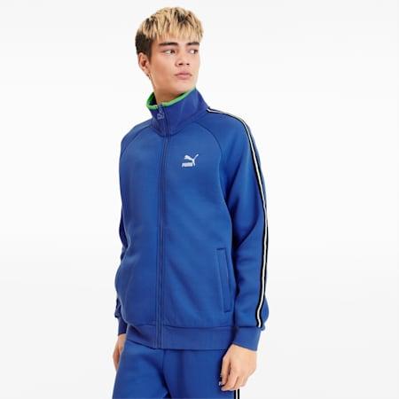 Męska kurtka dresowa, Dazzling Blue, small