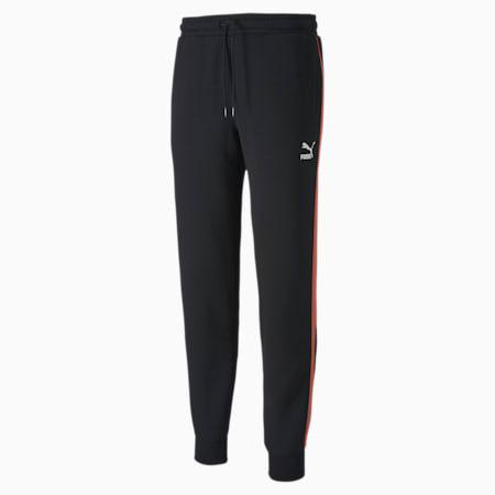 Men's Track Pants, Cotton Black, small-SEA