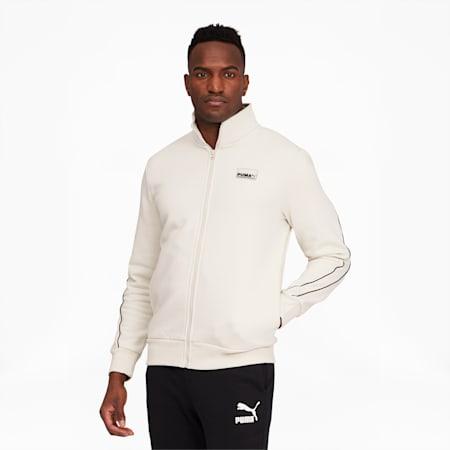 Avenir Men's Track Jacket, Vaporous Gray, small