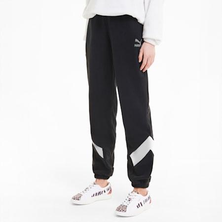 MCS Polar Fleece Women's Track Pants, Puma Black, small