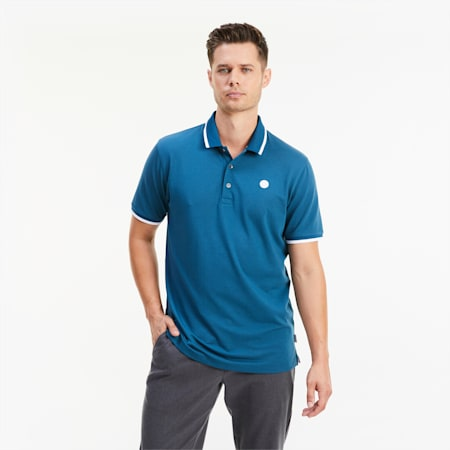 PUMA x ARNOLD PALMER Signature Tipped Men's Golf Polo, Legion Blue, small