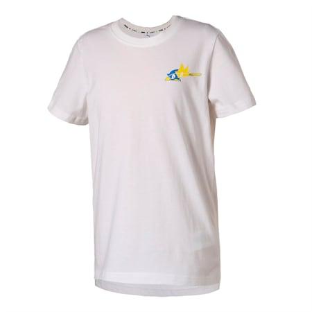 キッズ PUMA x SEGA Tシャツ 半袖 92-152cm, Puma White, small-JPN
