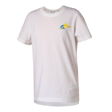 PUMA x SONIC Kids' Tee, Puma White, small-SEA