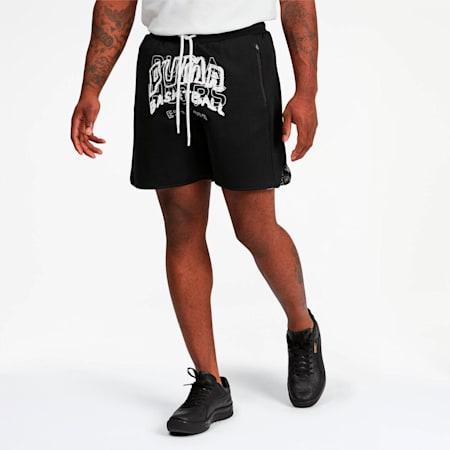 All Over Men's Shorts, Puma Black, small