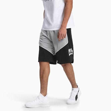 Hoops Game Men's Basketball Shorts, Puma Black, small