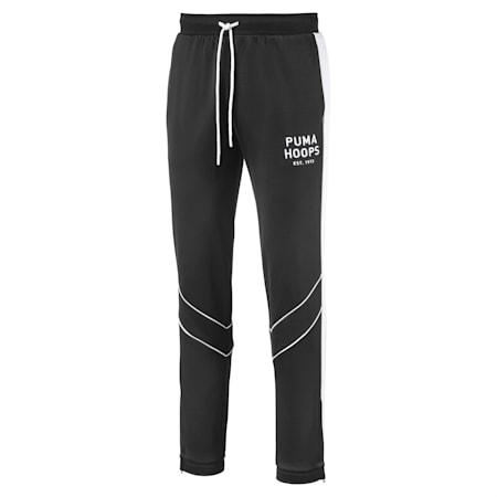 Hoops Since 73 Men's Track Pants, Puma Black-Puma White, small-SEA