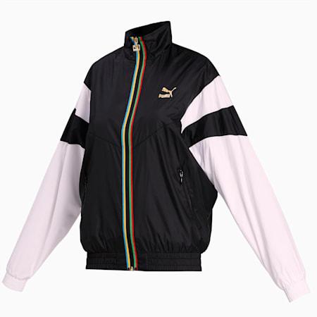 TFS Women's Track Jacket, Puma Black, small-IND