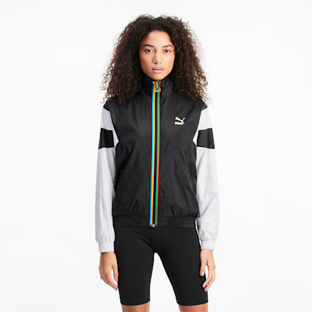 TFS Women's Track Jacket, Puma Black, small