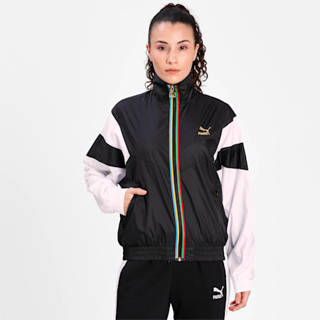 TFS Women's Track Jacket, Puma Black, small-IND