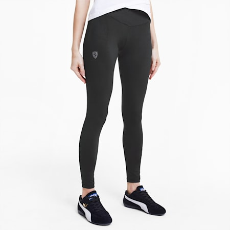 Scuderia Ferrari Women's Leggings, Puma Black, small-IND