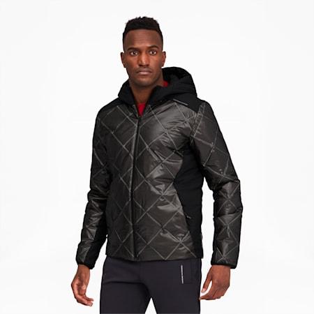 Porsche Design Men's Padded Jacket, Jet Black, small