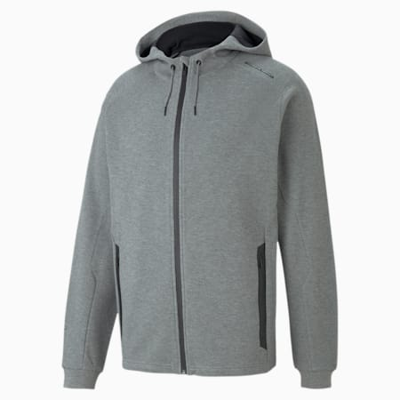 Sweat à capuche Porsche Design pour homme, Medium Gray Heather, small