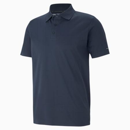 Porsche Design Reflective Tec Men's Polo Shirt, Navy Blazer, small-IND