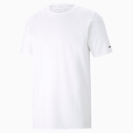Porsche Design Essential T-shirt voor heren, Puma White, small