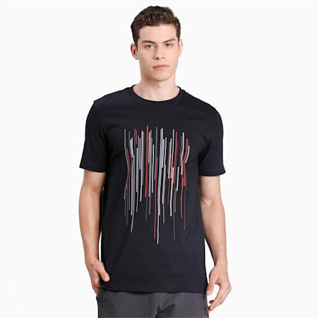 Porsche Design Graphic T-shirt voor heren, Jet Black, small
