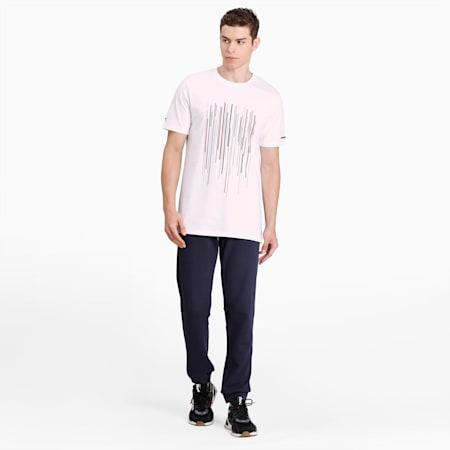 Porsche Design Graphic T-shirt voor heren, Puma White, small