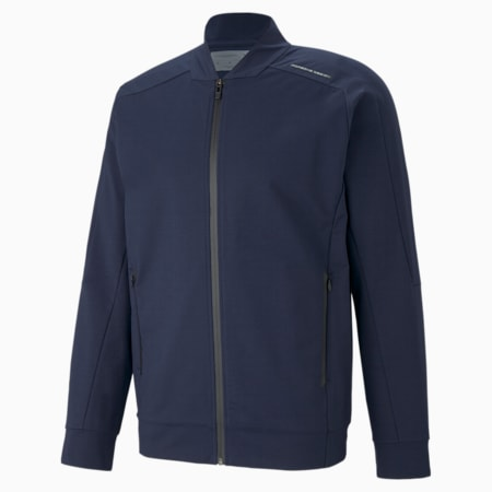 Porsche Design Men's T7 Track Jacket, Navy Blazer, small