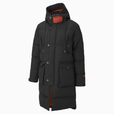 PUMA x ATTÈMPT Men's Down Coat, Puma Black, small