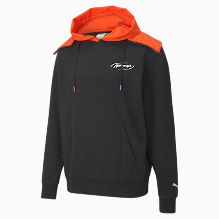 PUMA x ATTEMPT hoodie voor heren, Puma Black, small