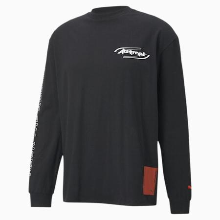 T-Shirt à manches longues PUMA x ATTEMPT pour homme, Puma Black, small