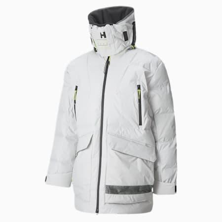 Chaqueta de invierno PUMA x HELLY HANSEN Tech para hombre, Glacier Gray, small